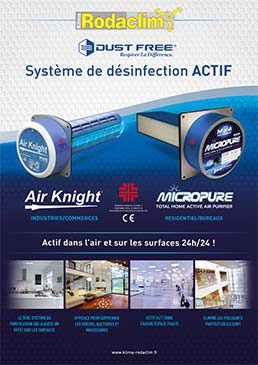 BROCHURE SYSTEME DE DESINFECTION DUST FREE