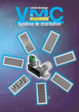 PLAQUETTE SYSTEME DE DISTRIBUTION VMC