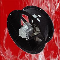 Ventilateurs axiaux 400°C/2h