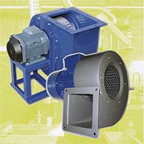 Ventilateurs centrifuges et tourelles