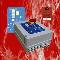 Coffrets de relayage ventilateur de relayage