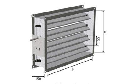 Dimensions KVZ 100
