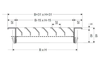 Dimensions KGA 25