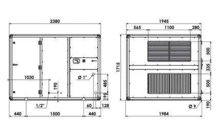 Dimensions CARMA 9070