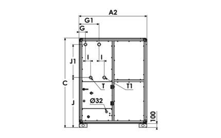 Dimensions module EDEN