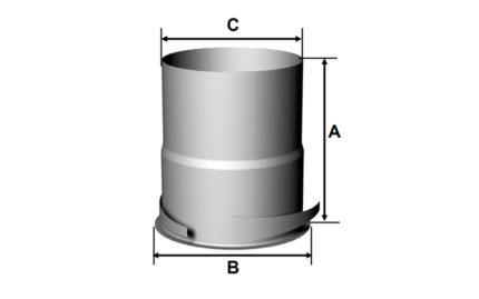Dimensions collerette KE-P