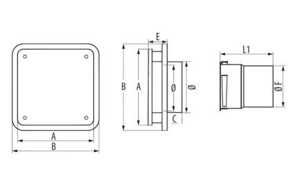 Dimensions BDO 160/200