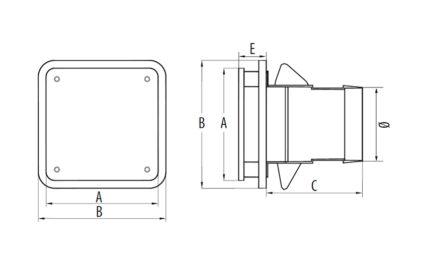 Dimensions BDO 80/125