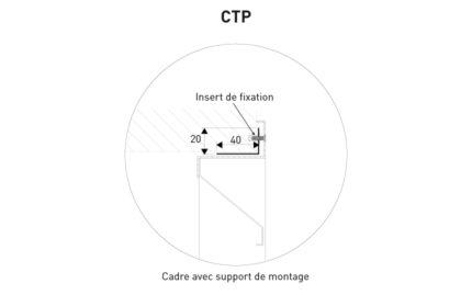 Détail contre cadre CTP KGZ.5