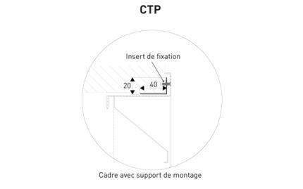 Détail contre cadre CTP KGZ.10