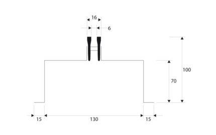 Dimensions KPW 1 FENTE