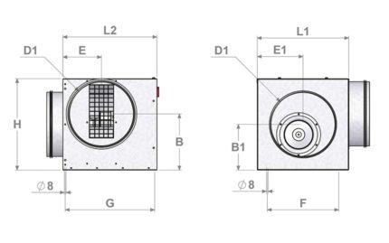 Dimensions ECONIZER